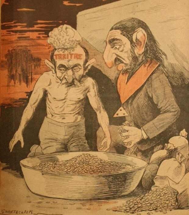 Иллюстрация из La Libre parole
