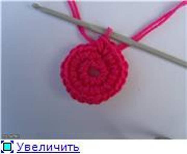 "Берет ""Снежок"", по МК Мотылька"