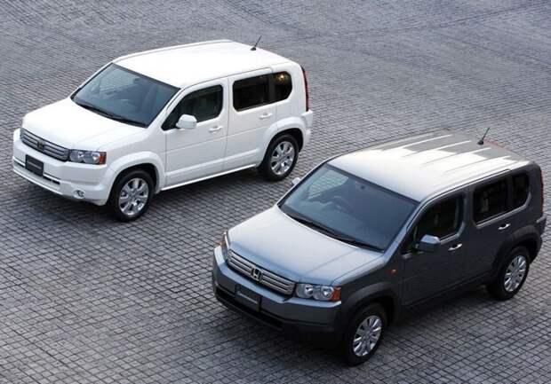 Honda Crossroad авто, автодизайн, внедорожник, вседорожник, джип, дизайн, япония, японский автопром