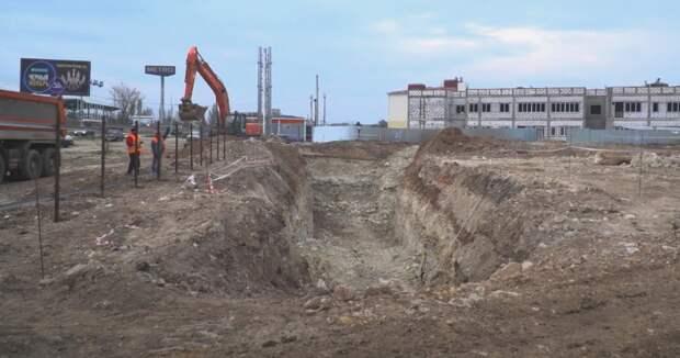 Большой спорткомплекс начали строить в Севастополе