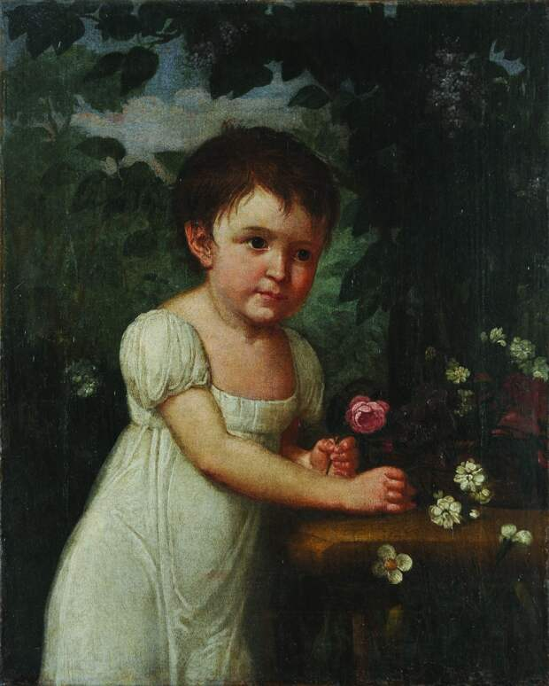 Аграфена Дмитриевна Янькова, портрет конца XVIII века
