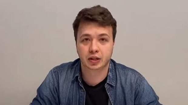 СМИ Белоруссии разместили в Сети видеокадры с допроса Протасевича