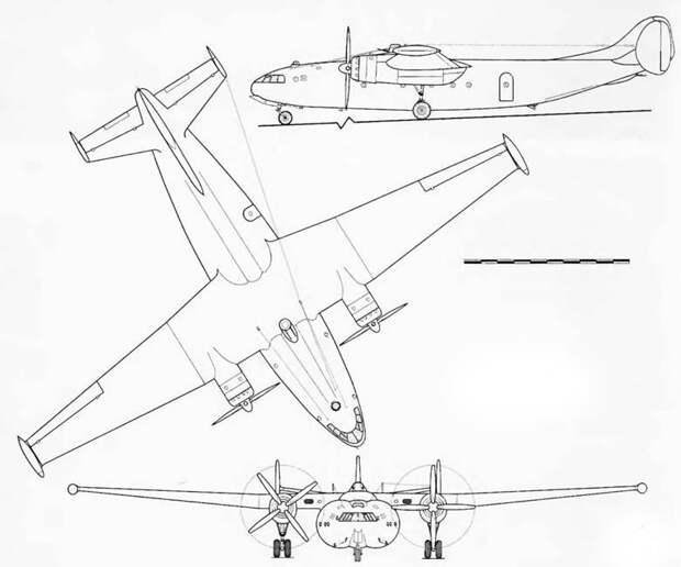 Невзлетевший самолет Роберта Бартини