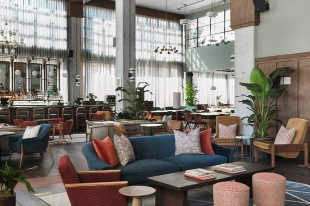 6 фотографий отеля The Hoxton, который открыли на месте бывшего мясокомбината