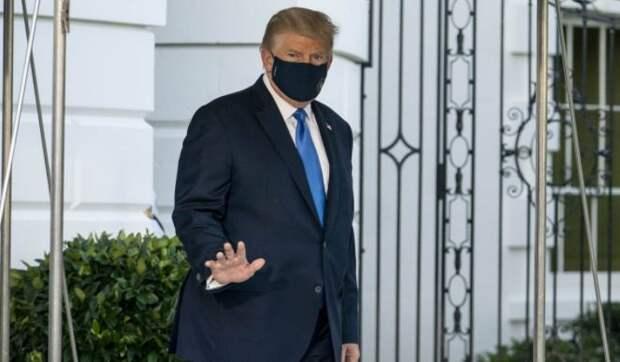 Названы расходы на лечение Трампа от коронавируса