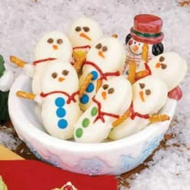 Печенье «Снежные Человечки»