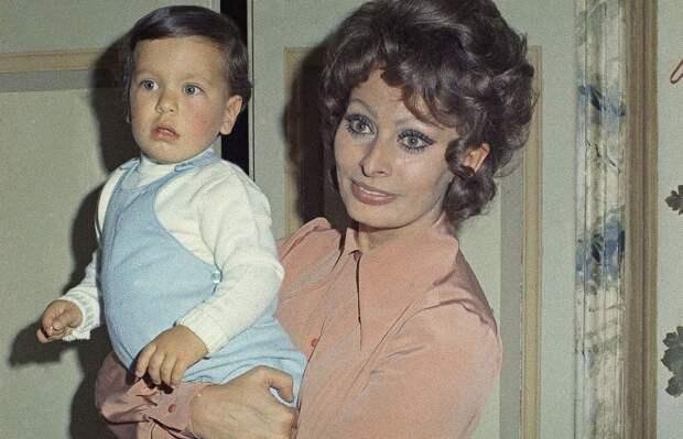 Дети Софи Лорен – Карло и Эдоардо Понти: как сложились их судьбы