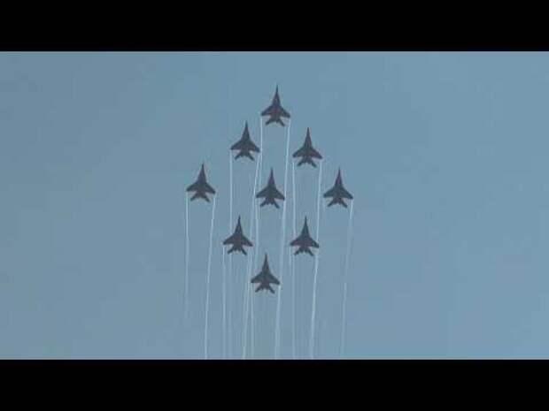 Всё, на что способны Су-35С и МиГ-29