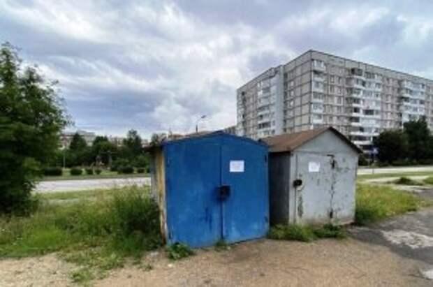 В Череповце продолжат сносить металлические гаражи