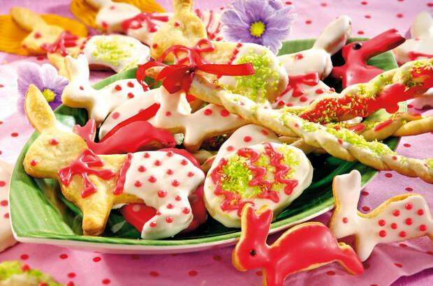 Пасхальное печенье. \ Фото: bigmir.net.