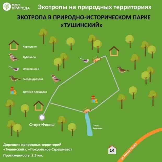 В Алешкинском лесу открылась экотропа
