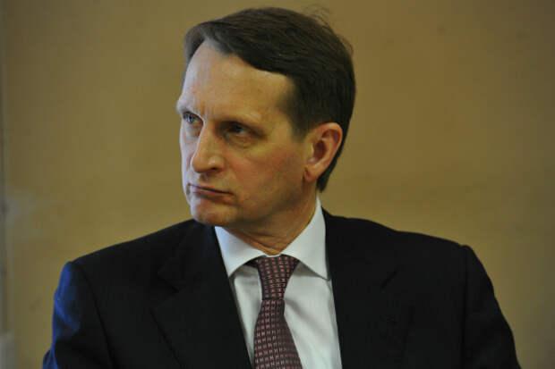 Глава Службы внешней разведки прокомментировал дело экс-журналиста Сафронова