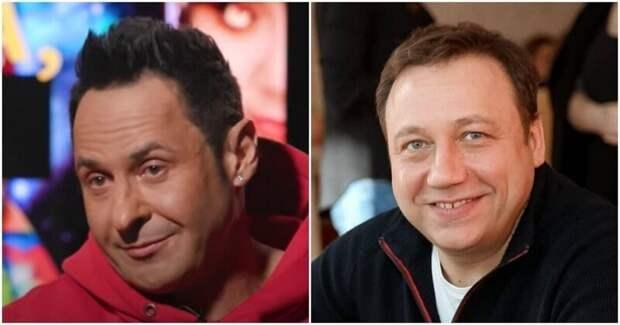 Георгий Дронов и Стас Костюшкин, 50 лет