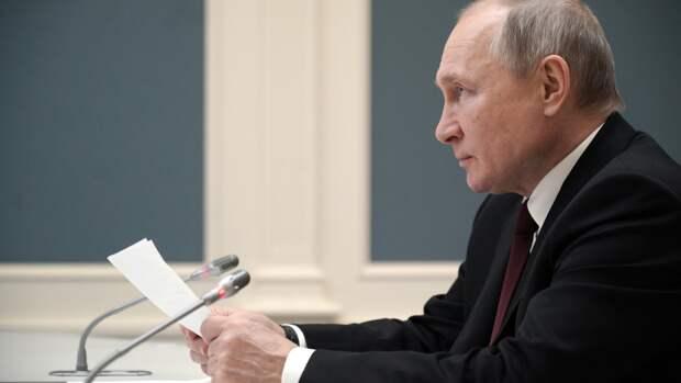 Путин назвал вбросом информацию о передаче Тегерану спутниковых систем