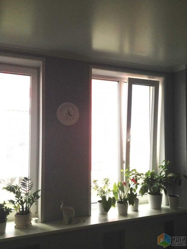 Эклектика на 70 квадратах, или яркие пятна на сером фоне. Кухня.