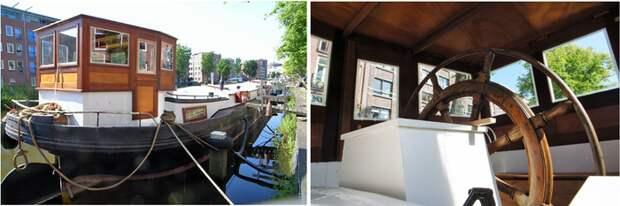 Дома на воде в Амстердаме, что там и как внутри дома на воде, Амстердам, Голландия, Нидерланды, Недвижимость, ачтоеслипотоп, длиннопост