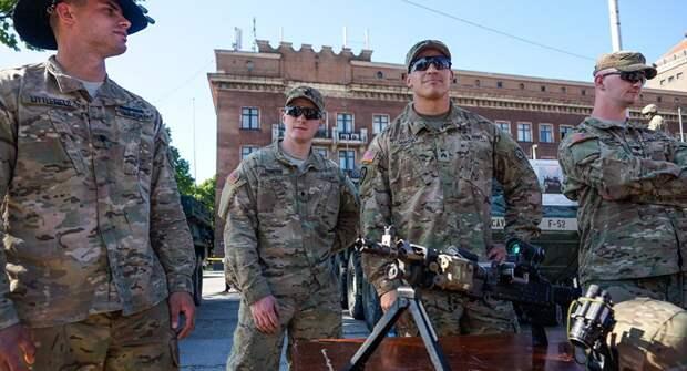 Латвия рассчитывает содержать на своей территории войска США за российские деньги