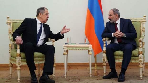 Инцидент награнице Армении иАзербайджана урегулирован— Лавров