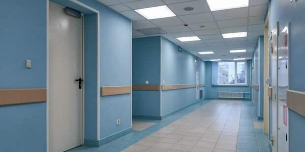 Собянин открыл новую инфекционную больницу в Вороновском Фото: mos.ru