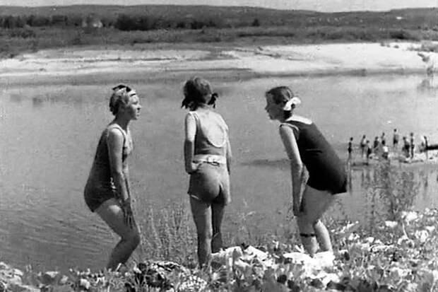 В кадрах фильма 1940 года мелькают родные самарские места. Фото: кадр из фильма