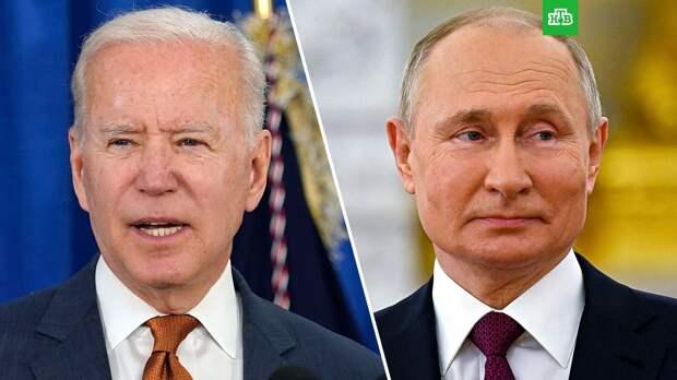 Байден объяснил отмену совместной пресс-конференции с Путиным