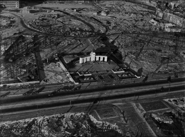 3128 Послевоенный Берлин с высоты птичьего полета
