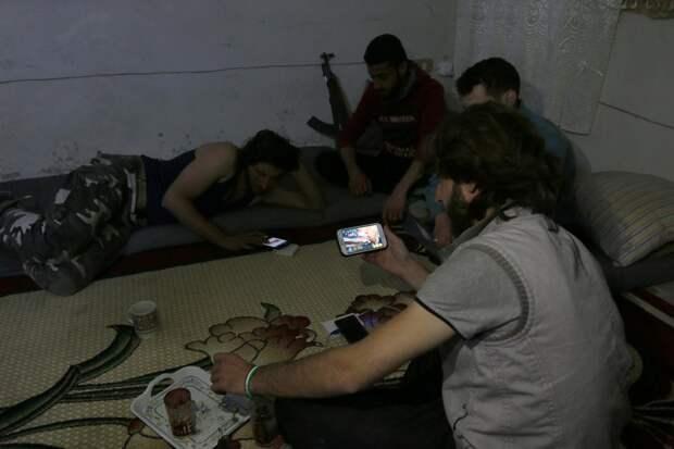 Боевики исламистской группировки Harakat Nour al-Din al-Zenki