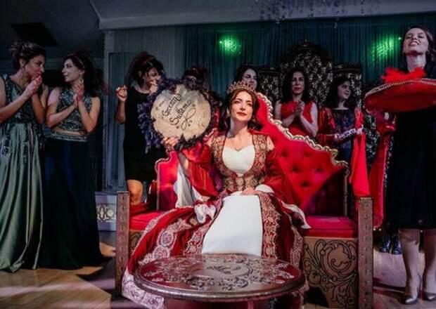 Турецкая свадьба или почему турецкие мужчины всё чаще выбирают в жены иностранок.