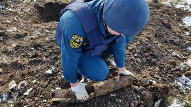 В Ленинском районе обезвредили 5 бомб времён войны