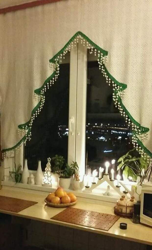 Самые новогодние шторы