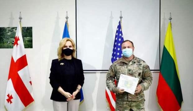 Вцентре НАТО— Грузия подготовили наблюдателей-инспекторов