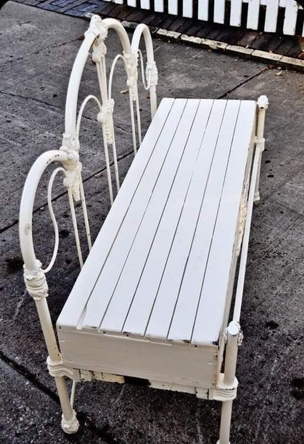 Можно сделать чудесные садовые скамейки Фабрика идей, дизайн, красота, кровати, мастерство, спинки