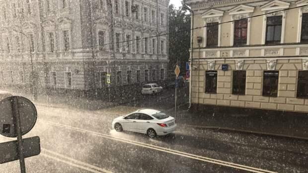 В Москве выпало почти две месячные нормы осадков в мае