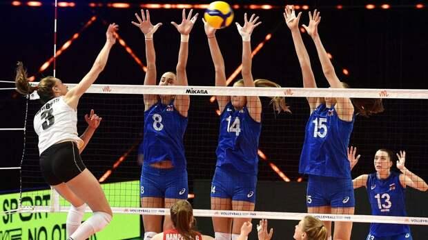 Россия уже во втором матче Лиги наций горела 0:2, но сумела спастись. Девушки вовремя очнулись