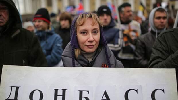 В Кремле оценили возможность воссоединения Донбасса с Россией