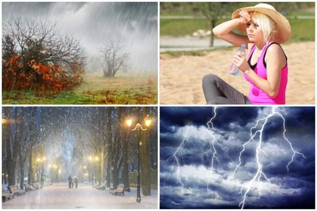 Как смена погоды влияет на наши биоритмы и биополе...