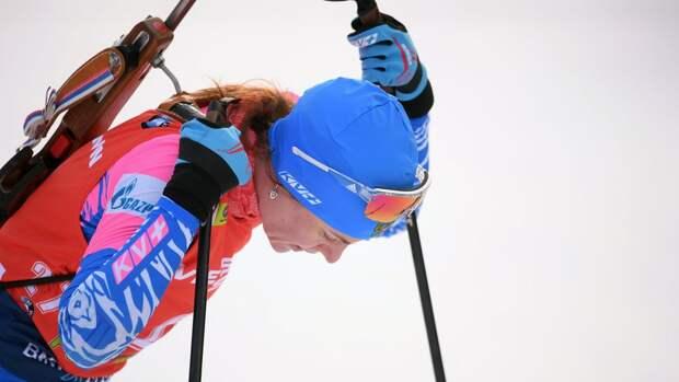 Биатлонистка Старых завершила спортивную карьеру