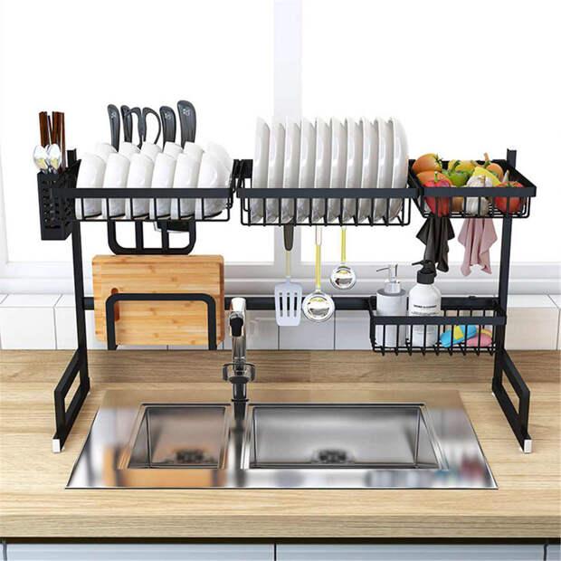 Органайзеры для удобного использования и хранения кухонных принадлежностей