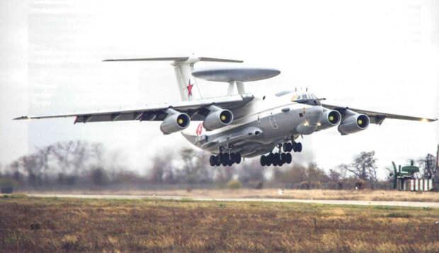 Над Сирией совершена попытка сбить российский самолет ДРОиУ А-50