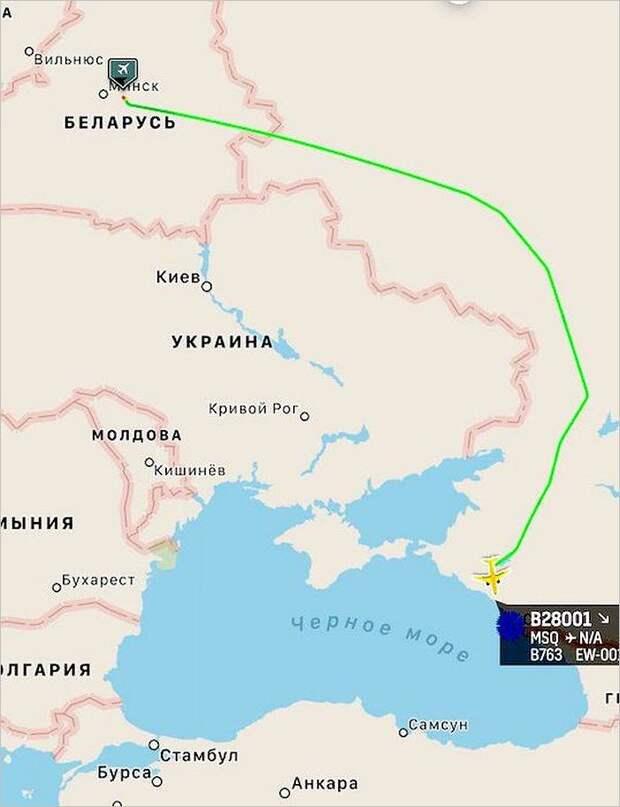 Как Лукашенко в Сочи летал