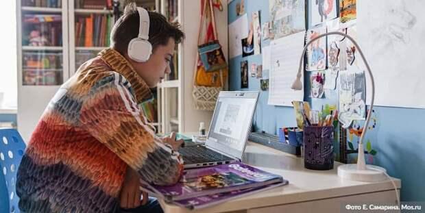 Собянин отметил эффективность дистанционного обучения в борьбе с COVID-19 / Фото: Е.Самарин, mos.ru