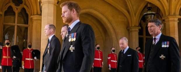 Принца Гарри разочаровало поведение родственников на похоронах дедушки