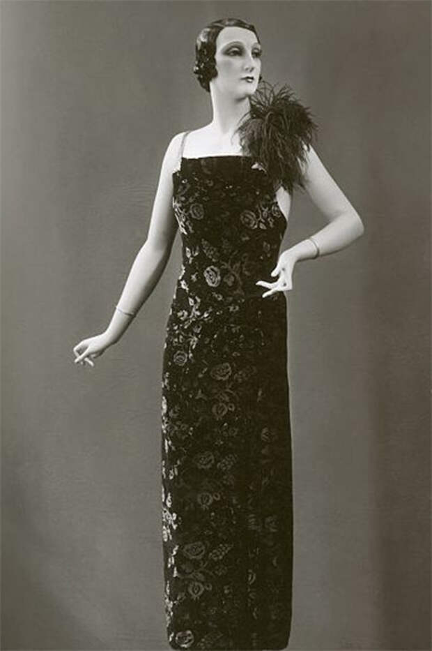 Модное платье 1920-х годов