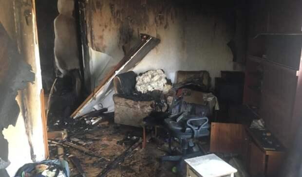 Напожаре вСорочинском городском округе погибли двое мужчин