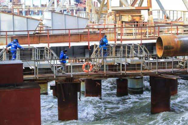 Министр транспорта оценил ход строительства Керченского моста