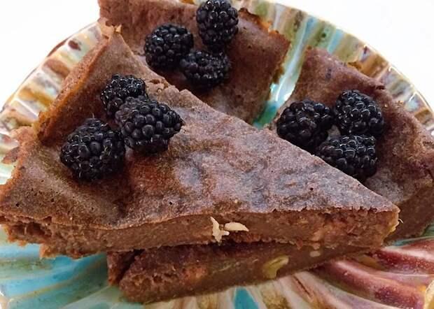 Вкуснейший шоколадный пирог с кабачками