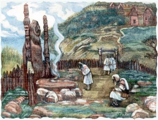 СЛАВЯНЕ.  Язычество древних славян