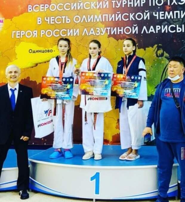София Шалгынбаева хорошо побилась в Подмосковье