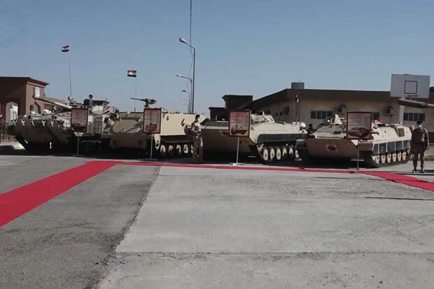 Советские и российские БМП служат вместе с американскими М113 в Ираке
