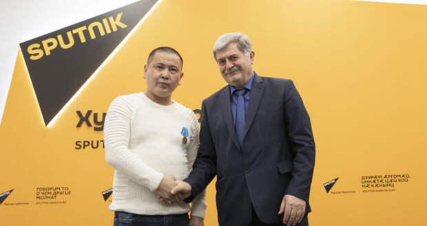 Тасболат Ибрашев и Эрик Пухаев